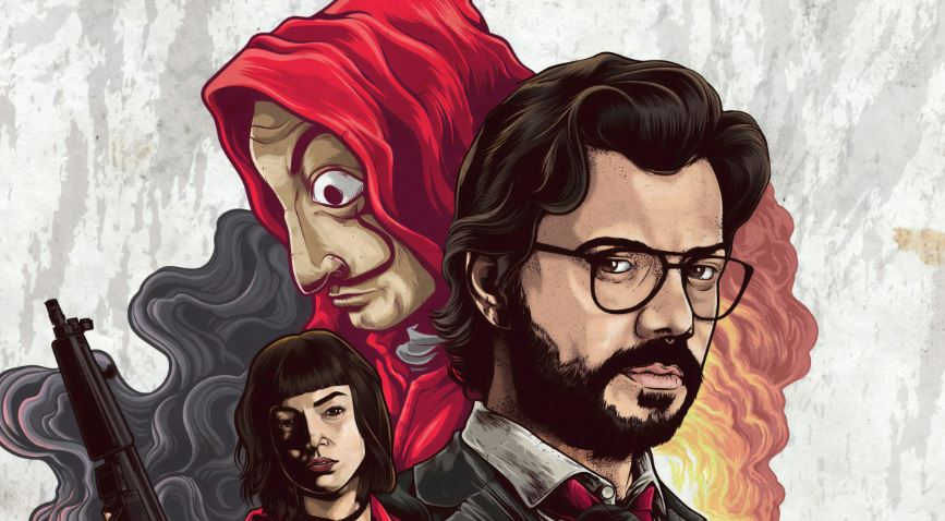 La casa de papel TV series Netflix, best trivia games, movie trivia games, TV show on Netflix, Money Heist Netflix,